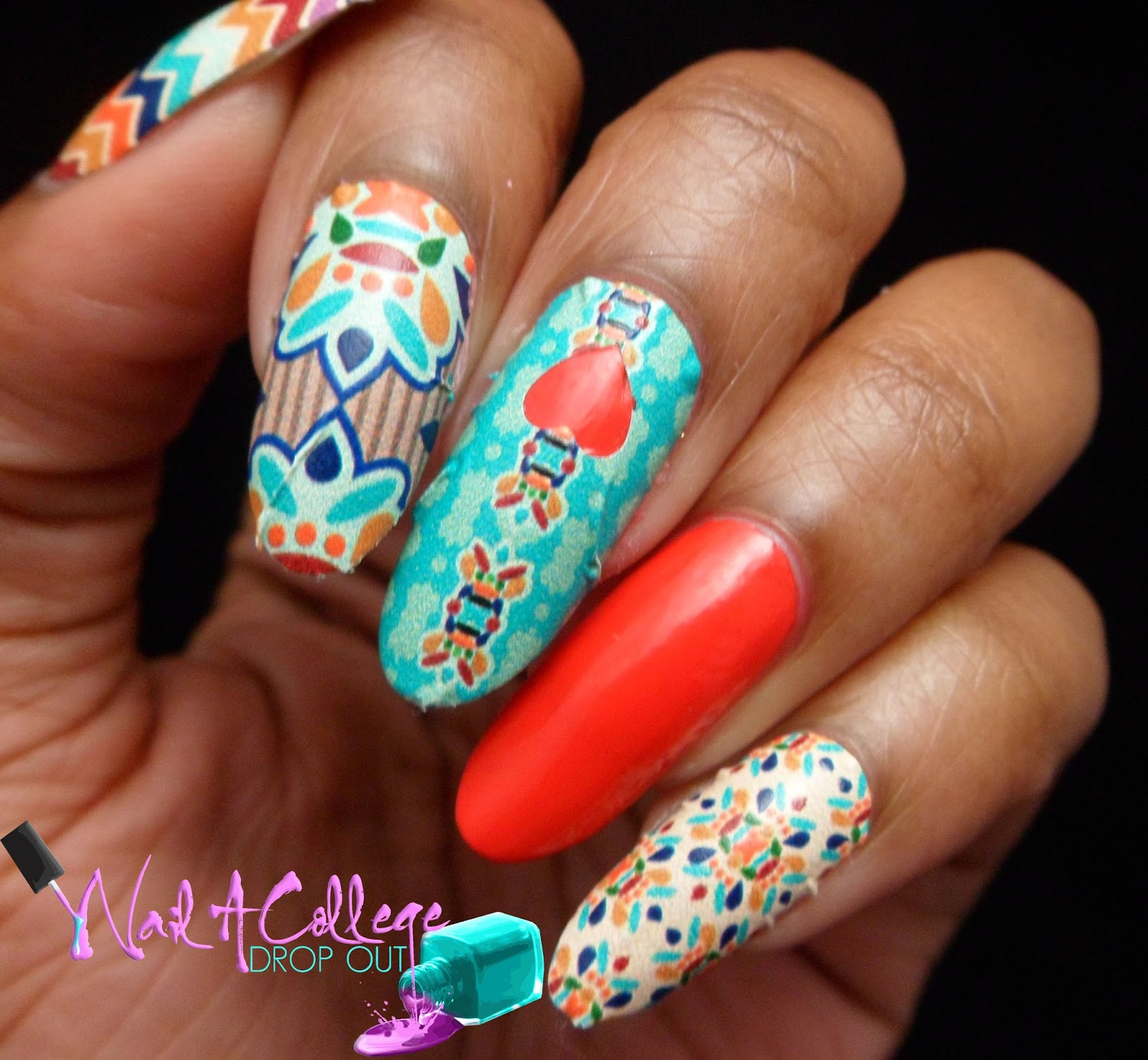 Nail A College Drop Out When Good Manis Go Bad Ncla Designer Nail