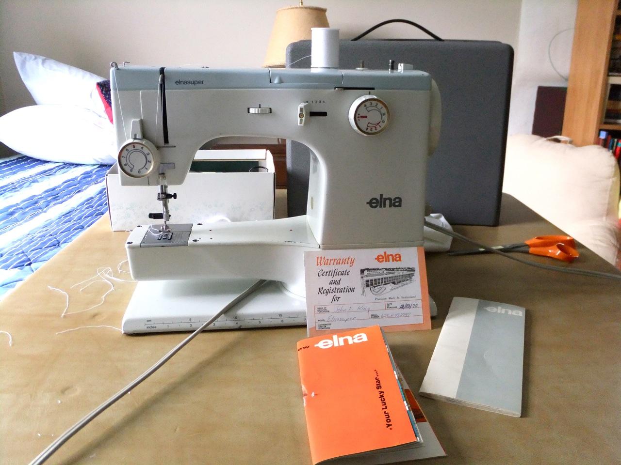 Joe39s Amp Julia39s Adventures Sewing Machine