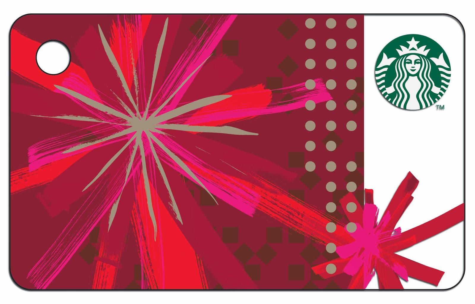 The new mini Starbucks Card 2014