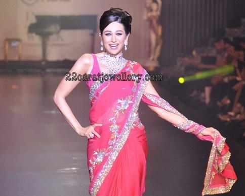 Karishma Kapoor Diamond Wedding Jewellery