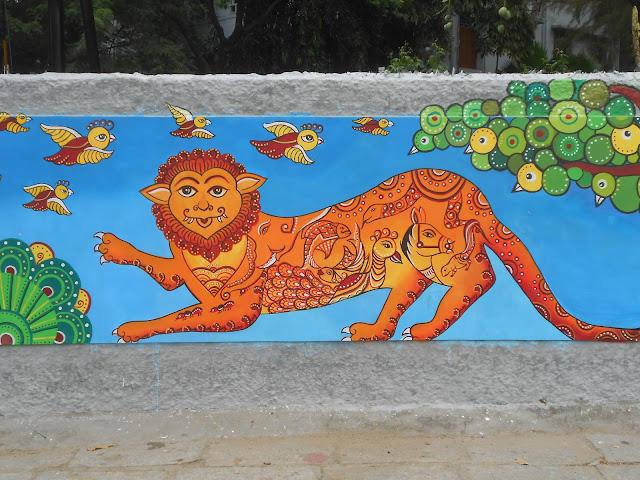 Street Art,Madras