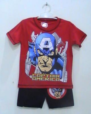 busana kartun captain america