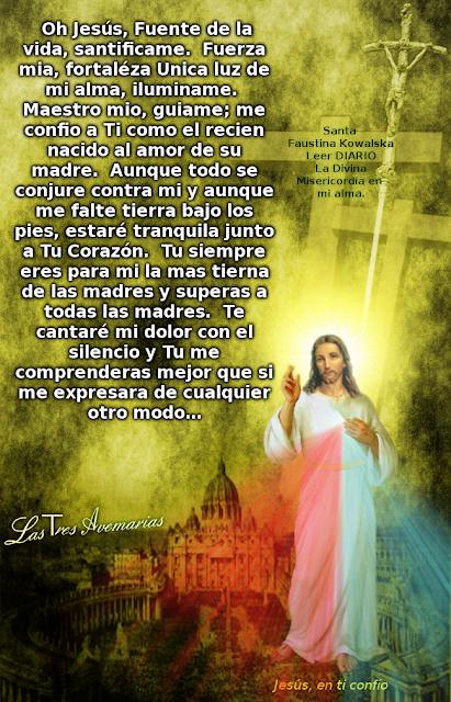 oracion a jesus fuente de vida