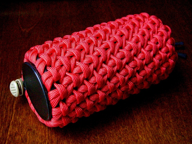 Stormdrane 39 s blog some bright shiny copper and a chain for Paracord case