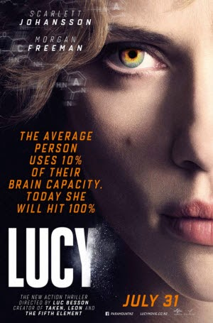 Lucy: Official Theatrical Release Poster