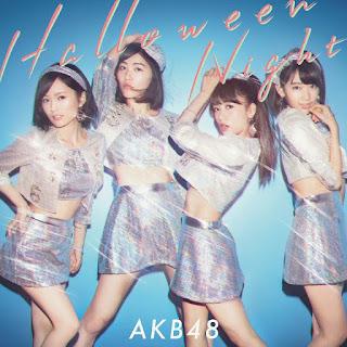 AKB48 ハロウィン・ナイト ジャケット Halloween Night Cover Limited B