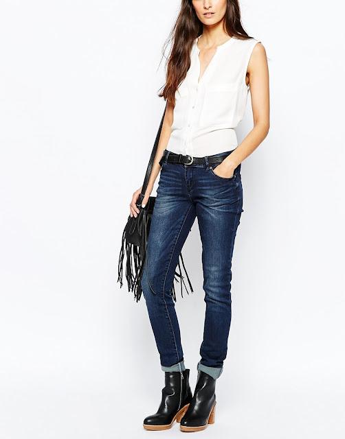 vero moda skinny jeans, indigo slim fit jeans,