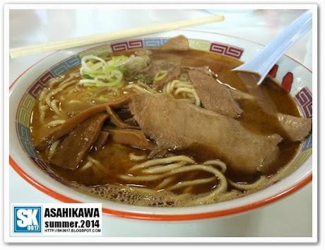 Asahikawa Japan - Shoyu Ramen @ Hachiya