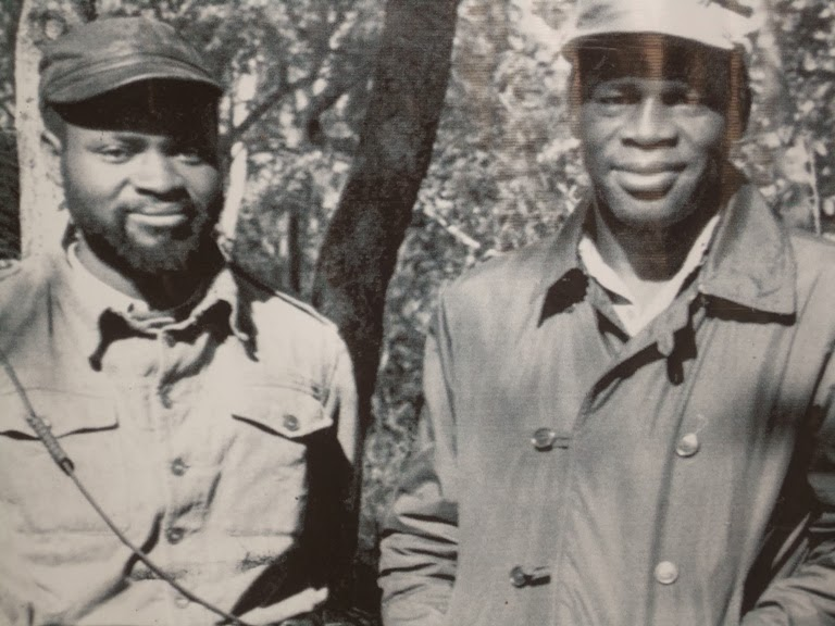 Samora Machel, presidente de Mozambique Machel+y+mondlane
