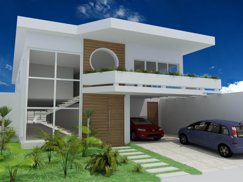 Fachadas modernas fachadas de casas modernas en argentina for Fachada moderna