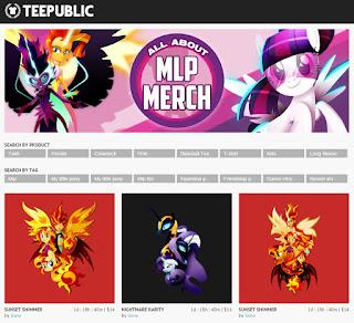 MLP MLPMerch Teepublic Store Designs