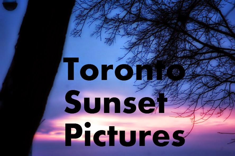 Toronto Sunset Pictures