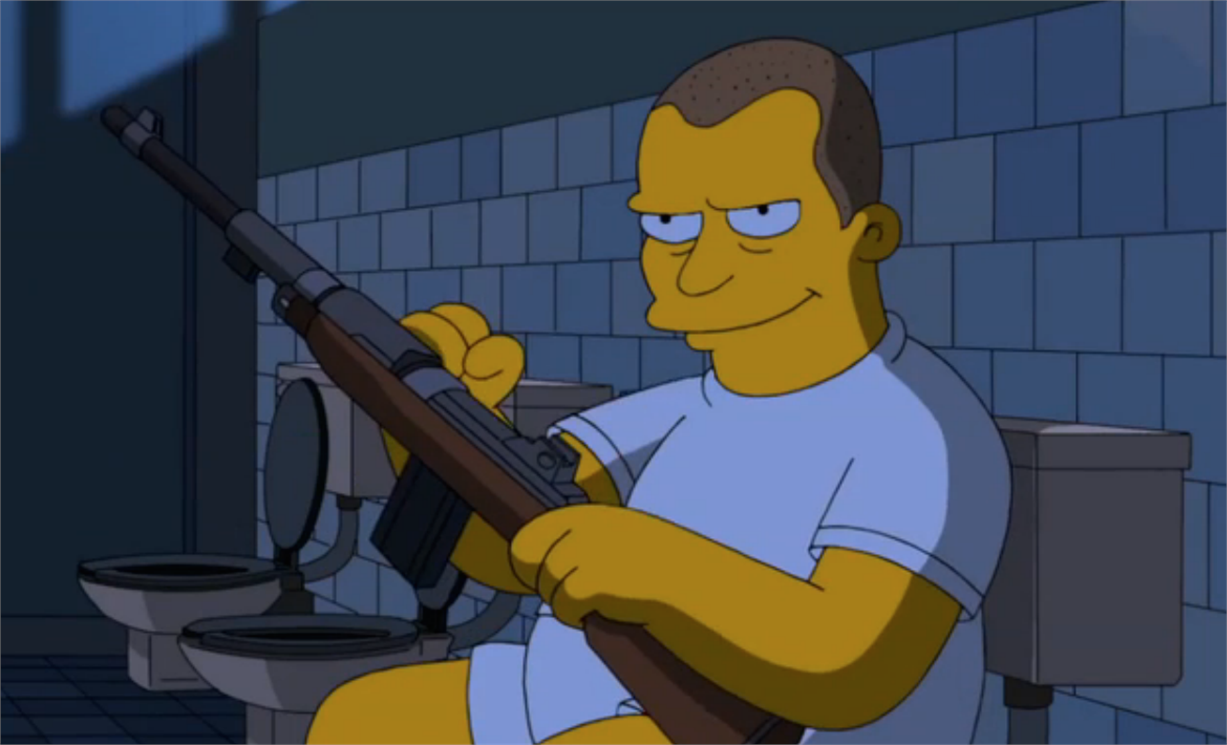 The Simpsons and Stanley Kubrick - Full Metal Jacket