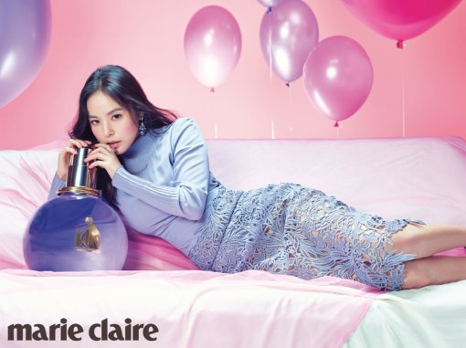 min hyorin is a sweet marie claire girl justkpop