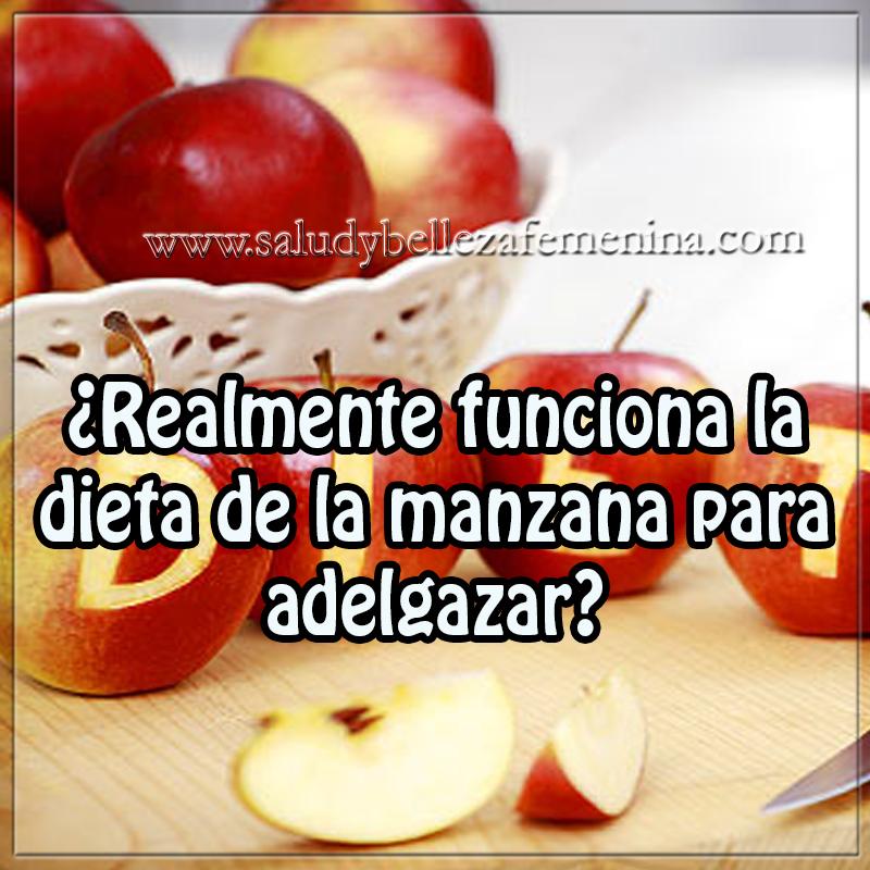 Realmente funciona la dieta de la manzana para adelgazar - Las mejores cenas para adelgazar ...