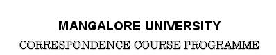 BA, BCom, BBM, BSc 2013 Results Mangalore University