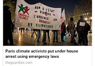Paris climate activists put under house arrest
