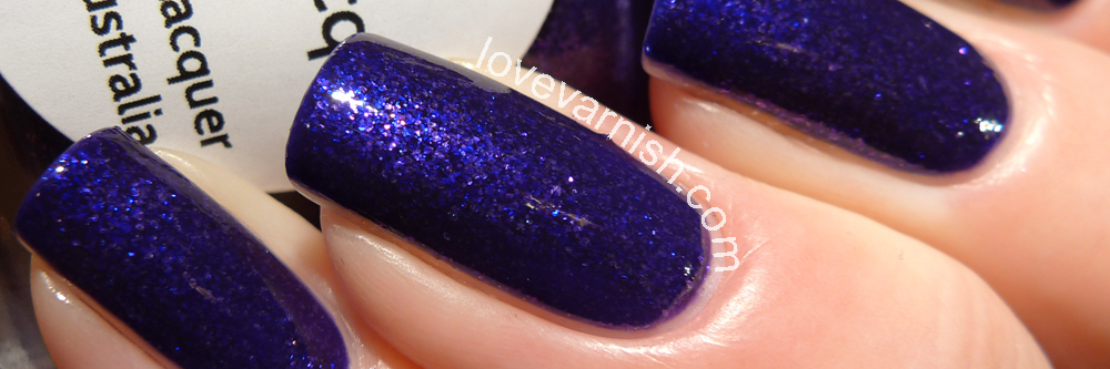 LilypadLacquer Purple Diamonds