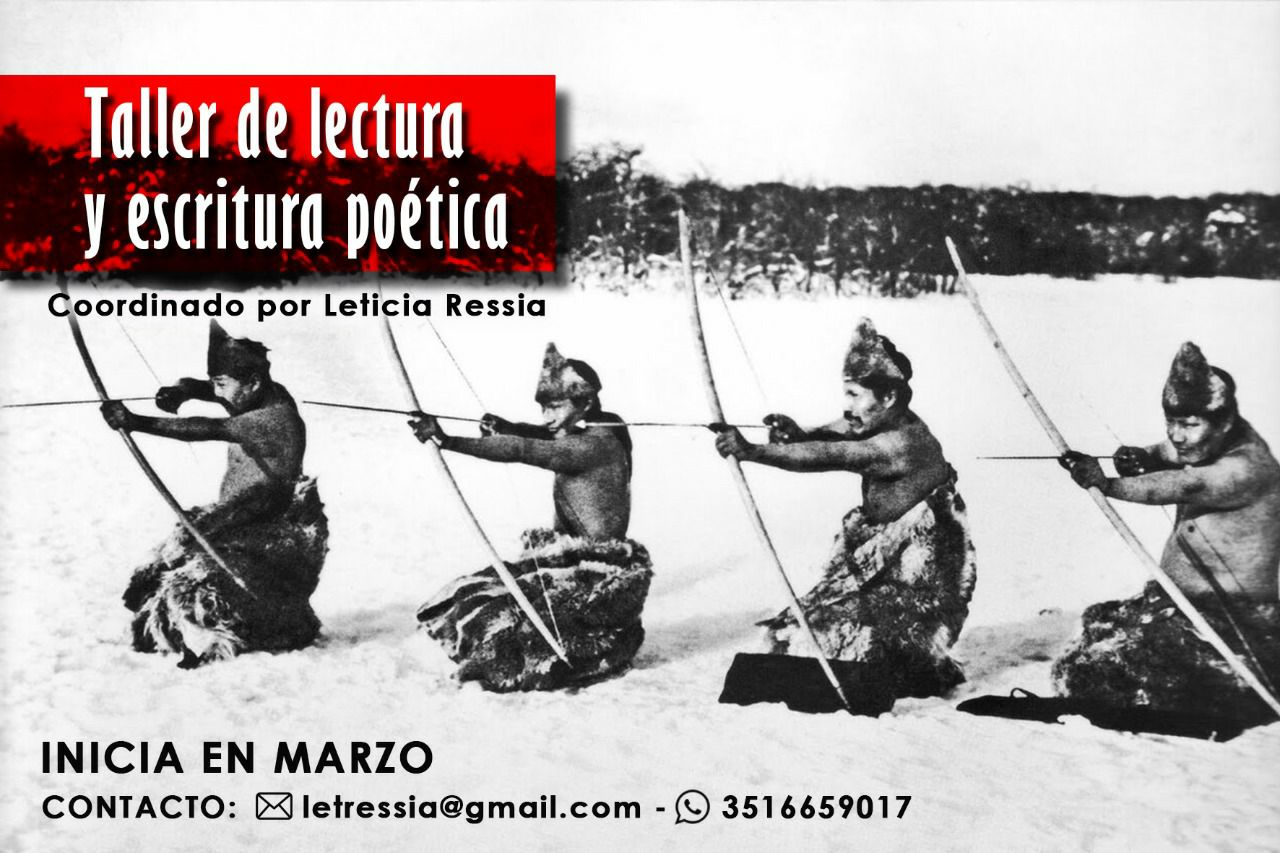 Marzo 2018: Taller de lectura y escritura poética