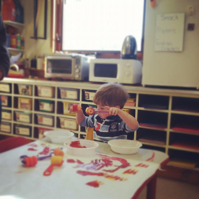 toddler boy art