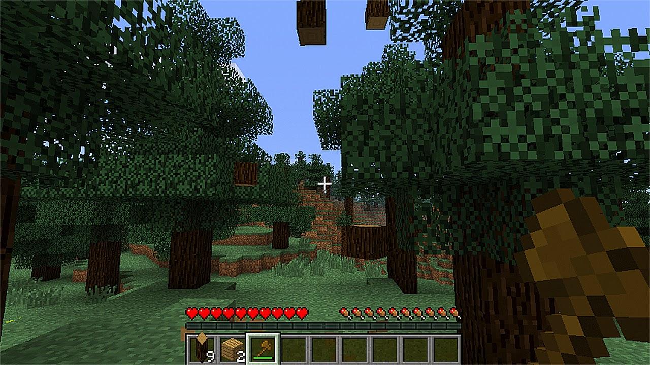 minecraft treecapitator mod 1.7.10