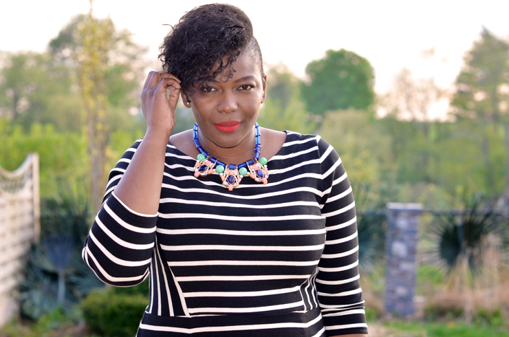 Ciaa - Fashion blogger at www.mycurvesandcurls.com