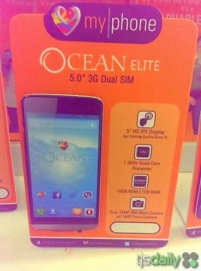 MyPhone Ocean Elite Specs