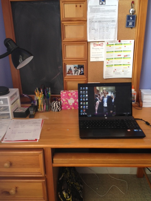 Chit chat the blog organizing my desk - Organize my desk ...