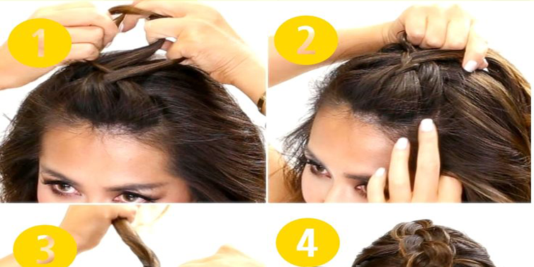 diy braid pony hairstyle tutorial for school girls emaggy