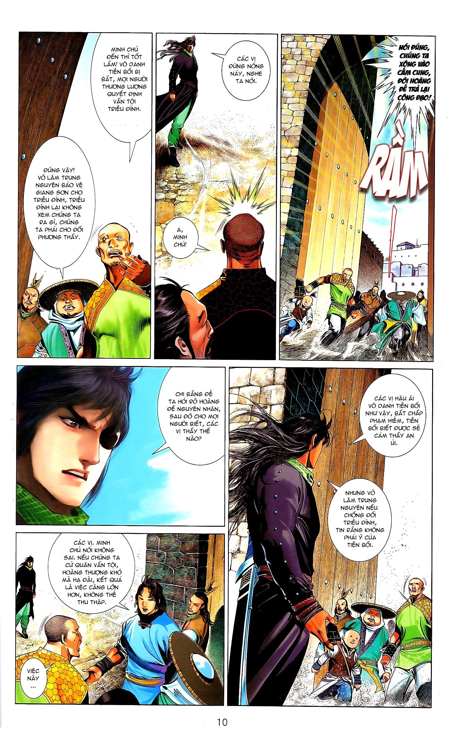 Phong Vân chap 671.1 - Trang 10