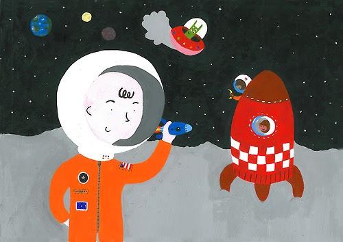 ☛ Astronaut