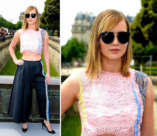 Jennifer Lawrence Paris Fashion Week 2013