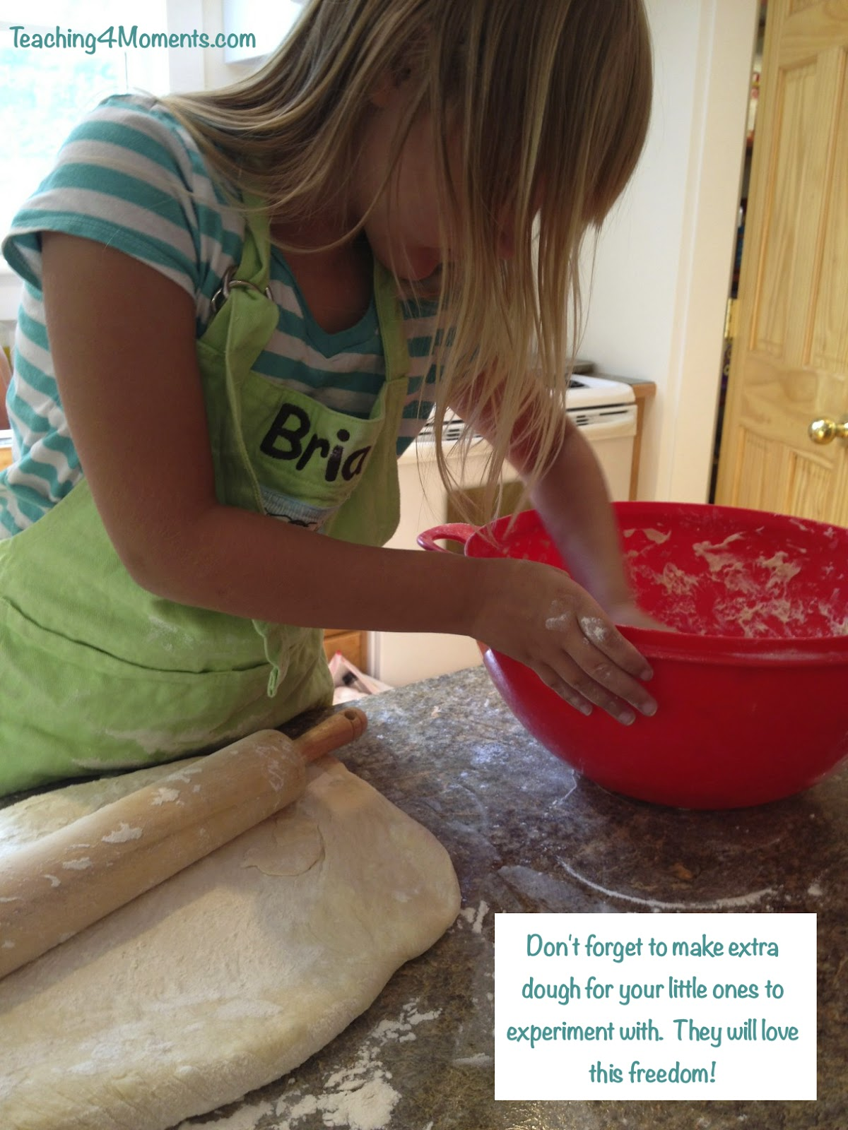 Make extra dough for kids to experiment with.