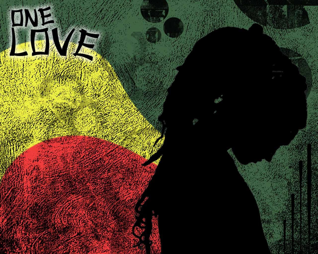 Rasta girl jahlove - Reggae girl wallpaper ...