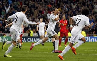 في غياب كريستيانو وبعشرة لاعبين ريال مدريد يسحق غلطة سراي برباعية