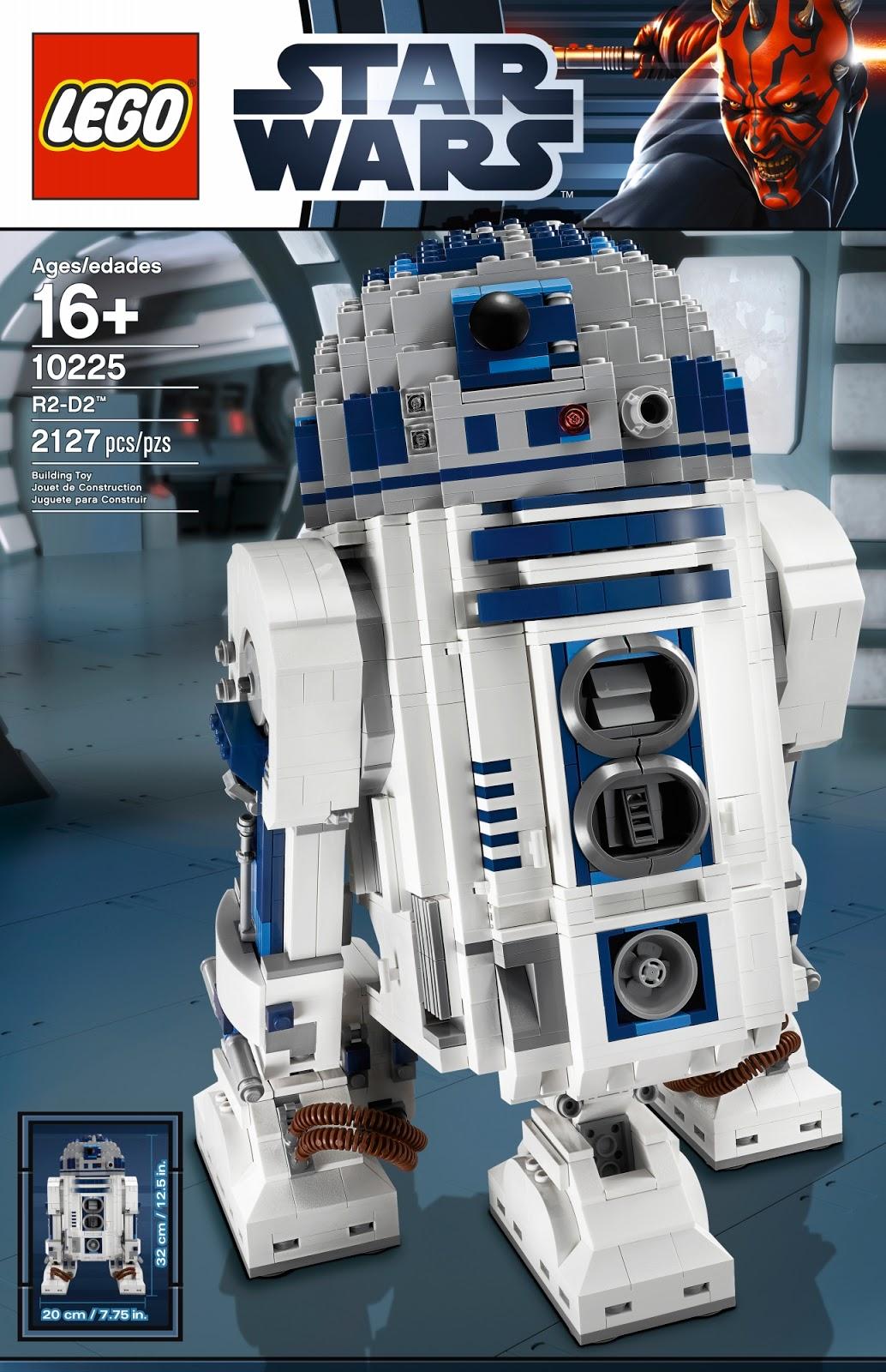 My favourite upcoming star wars lego ucs r2 d2 10225 set - Lego starwars r2d2 ...