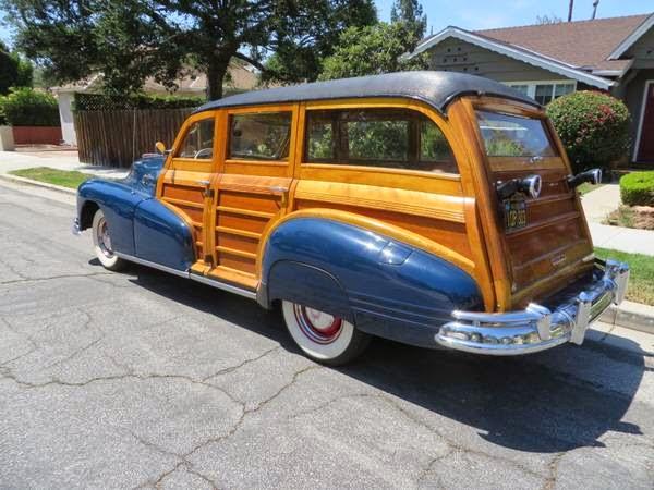 1948 Pontiac Streamliner Eight Deluxe Wagon Auto