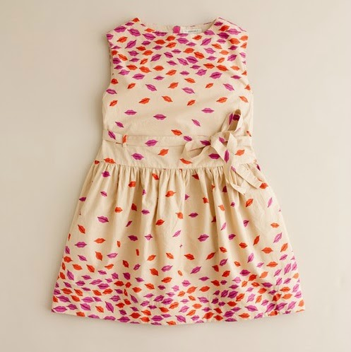 The Terrier and Lobster: Desired: Crewcuts by J.Crew Pucker Up Print Skirt and Dress for Girls