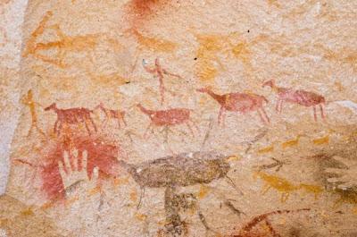 Lukisan batu manusia purba