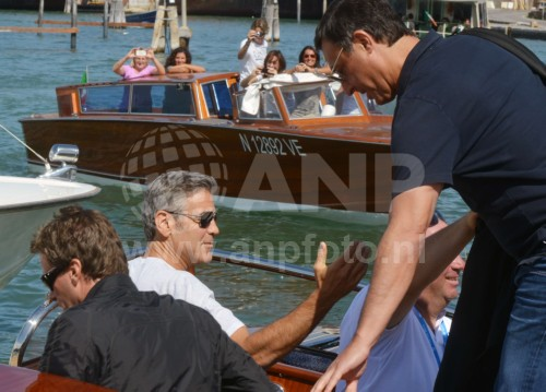 George Clooney arrives in Venice 24414893