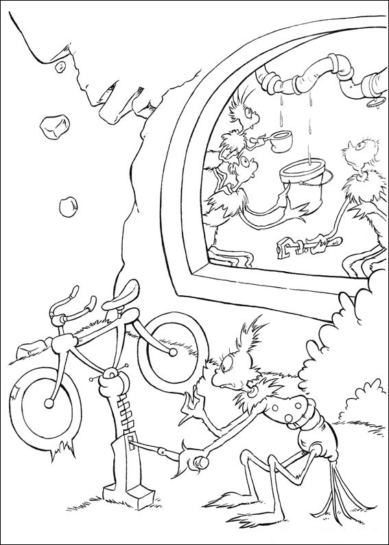 Fun Coloring Pages Horton Dr Seuss