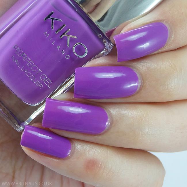 Kiko Perfect Gel Violet