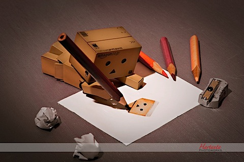 Danbo  Wall on Day33 Don T Disturb Me Need More Concentration To Finish Me In This