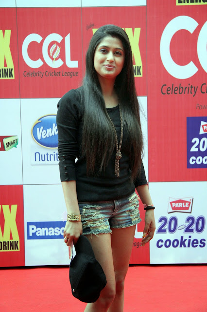 Celebrities Pictures at CCL Season 5 Mumbai Heroes Vs Veer Marathi Match CCL5  27.JPG