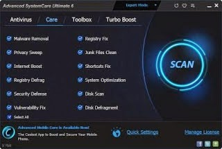Advanced SystemCare Ultimate 6