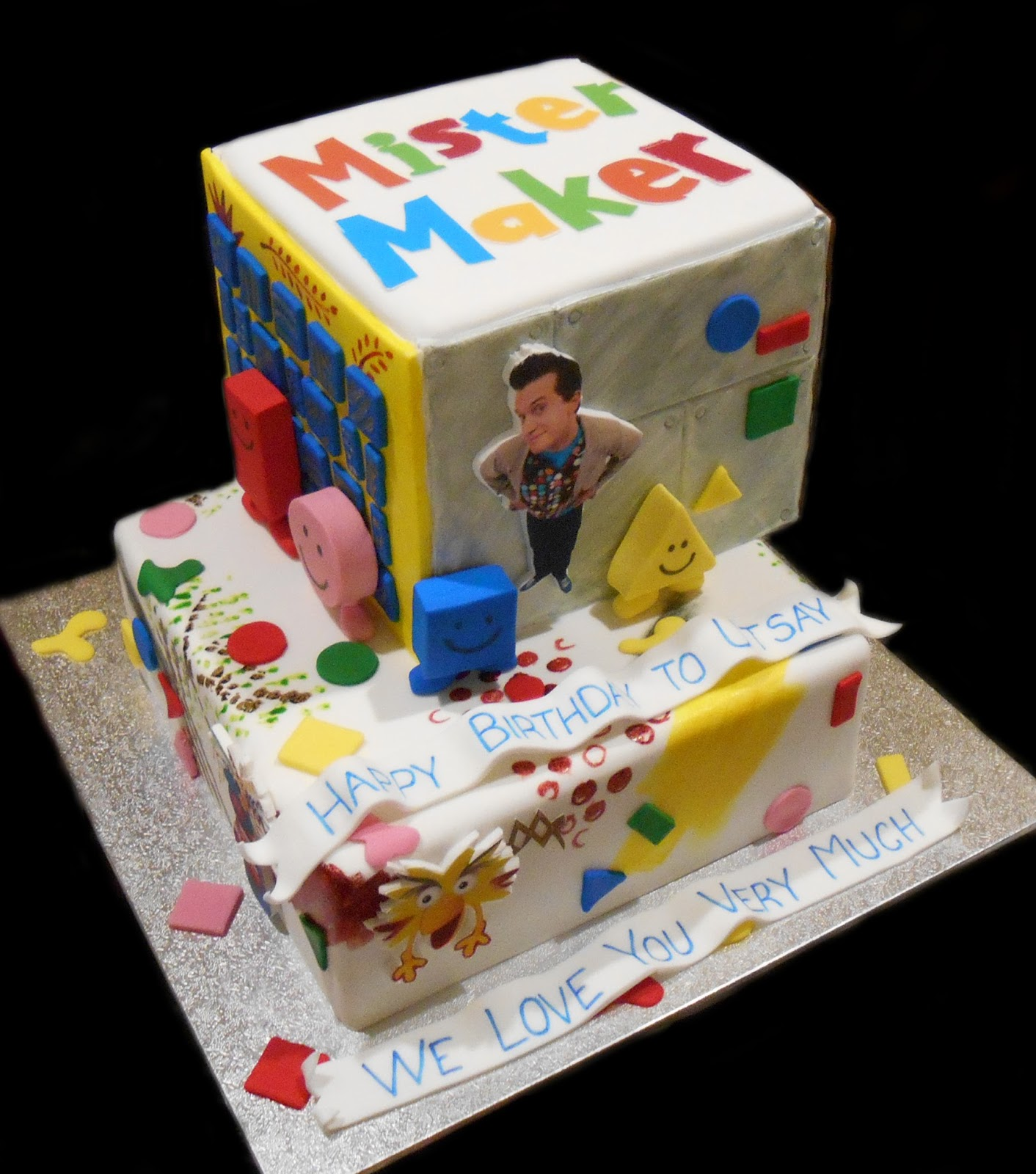 Nadas Cakes Mister Maker Themed Birthday Cake By Nadas Cakes