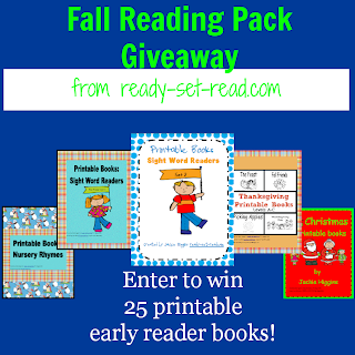 giveaway, early reader books