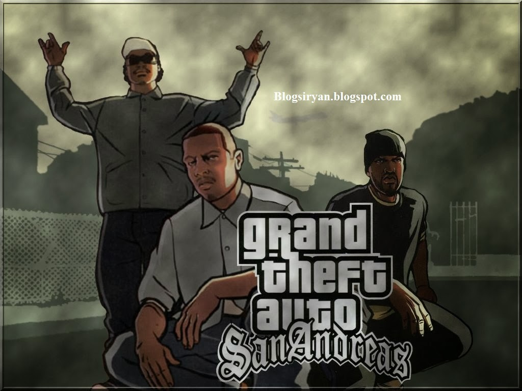 Download Game GTA Sanandreas Versi Full Mod