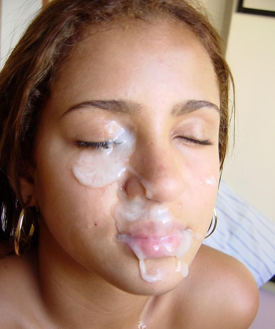 Teen huge load facial first time bp caught