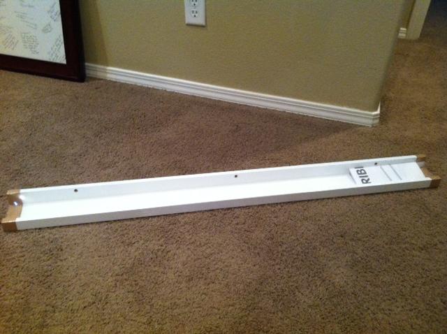 My many moments photo ledge diy for Ikea ribba plank